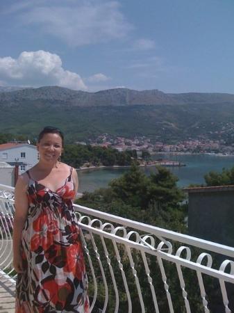 Hotel Zvonimir : Hotel balcony in Strobec, Croatia