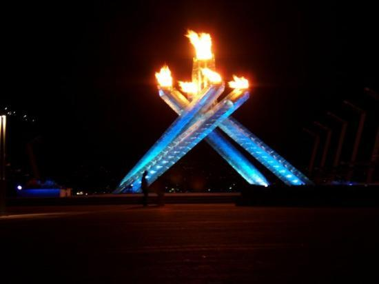 The Outdoor Cauldron at Vancouver Convention Centre (Main Media Centre)
