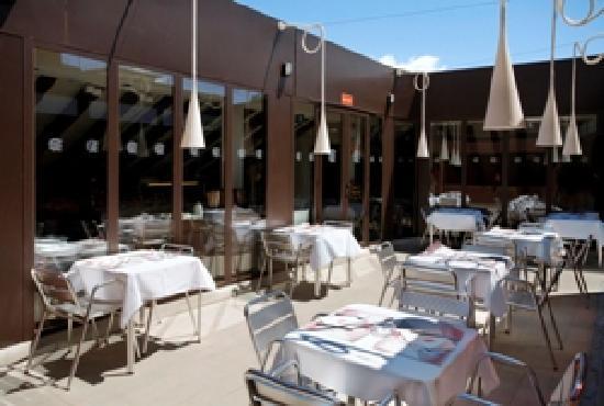 Petit Palace Preciados: Rooftop Breakfast Room