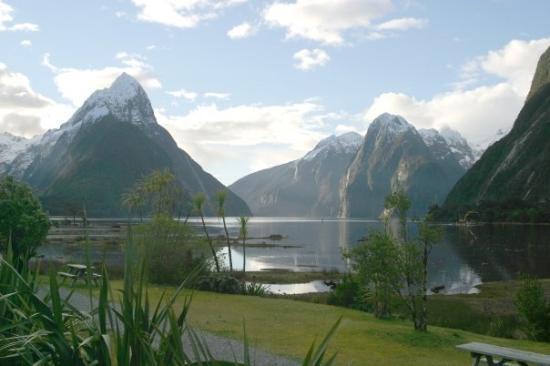 Milford Sound, Nouvelle-Zélande : Mitre Peak - 2