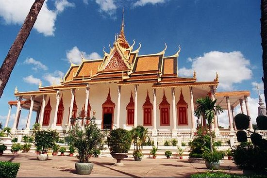 Phnom Penh, Cambodge : ROyal Palace
