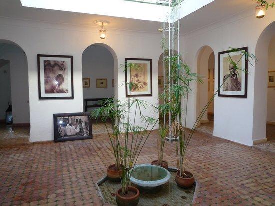 Maison de la Photographie de Marrakech : Patio