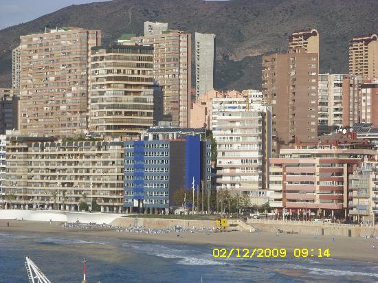 Hotel RH Corona del Mar: I like Benidorm, out of summer season.