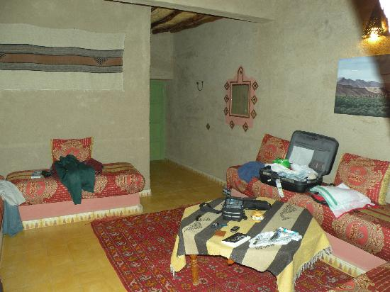 Kasbah Hotel Said: Suite living room