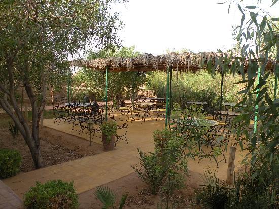 Kasbah Hotel Said: Inner garden
