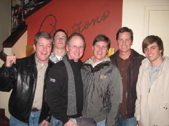 Pinons Restaurant : The Boyz from Tulsa at Pinons