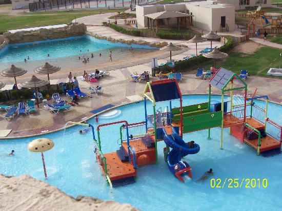 Kids Pool From Top Of Slides Picture Of Tirana Aqua Park Resort Nabq Bay Tripadvisor