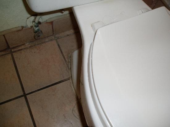 Relax Inn: Toilet