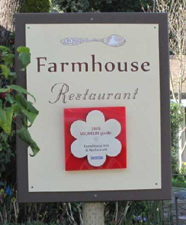 Farmhouse Inn & Restaurant: Great memories!