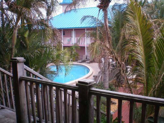 Fawlty Towers Resort Motel: la vue depuis la chambre