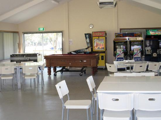Discovery Parks - Barossa Valley: Amusement hall