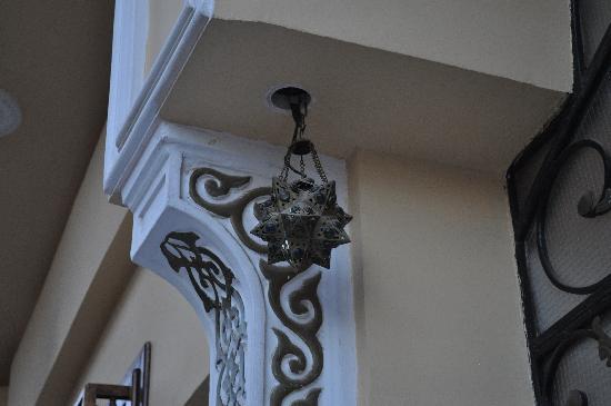 Mara House: at entrance