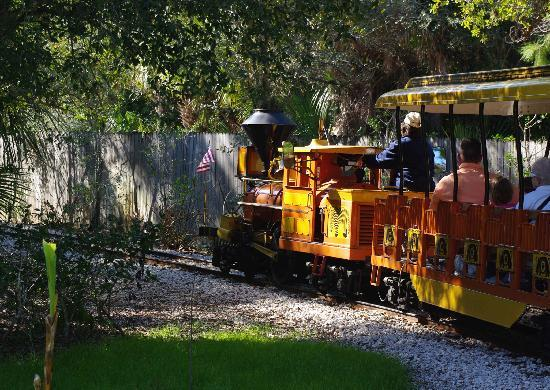 Melbourne, FL: Zoo train