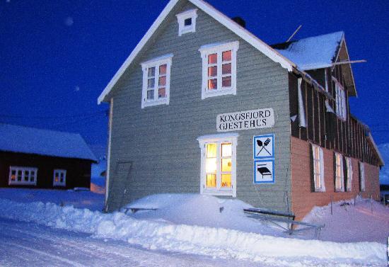Kongsfjord Gjestehus : the restaurant building