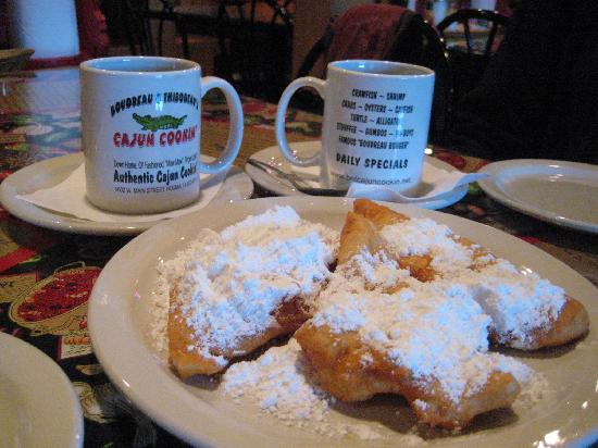 Boudreau & Thibodeau's Cajun Cooking: Great coffee stop!
