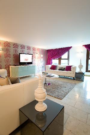 Posh Pads Liverpool One Living Room