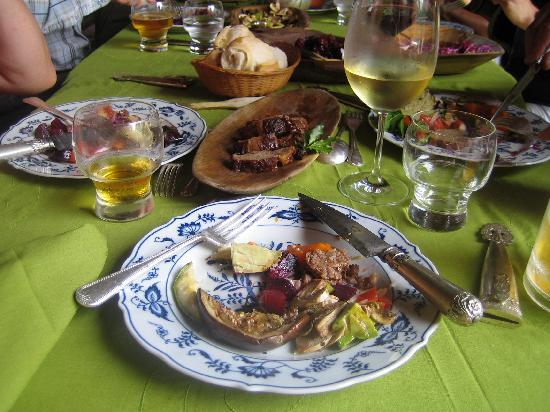 San Miguel del Monte, Argentina: our delicious lunch