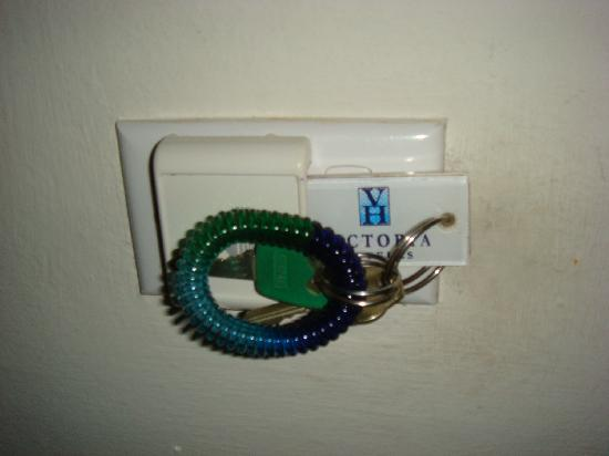 VH Gran Ventana Beach Resort: this is how you turn the electricity on in your room!