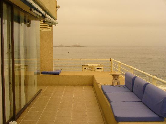 San Alfonso del Mar: balcon