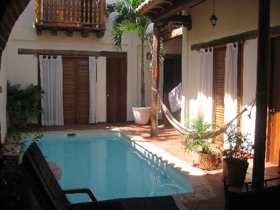 Casa Sweety: courtyard