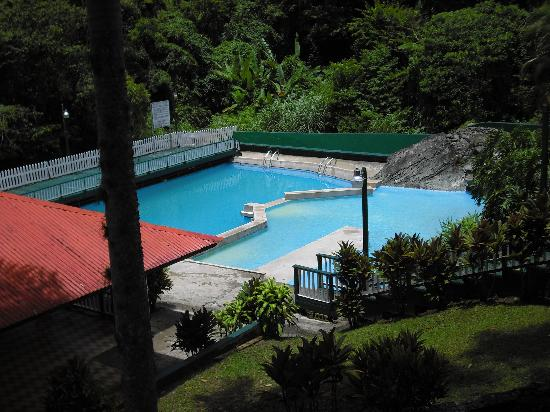 Jayuya, Puerto Rico: The pool of natural river water.