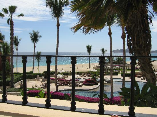 Casa del Mar Golf Resort & Spa: view from patio while sitting in chair