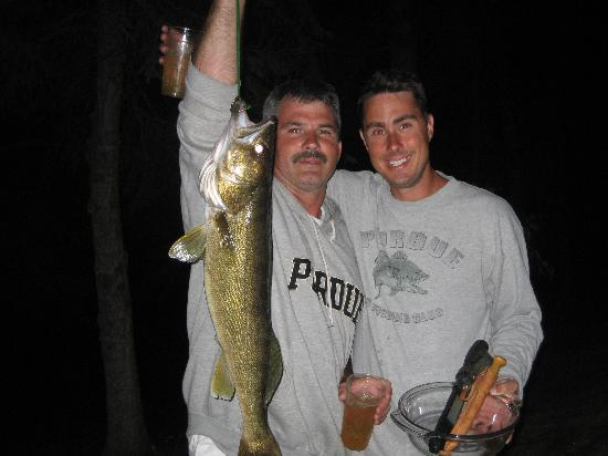 Big Timber Lodge: Nice Walleye