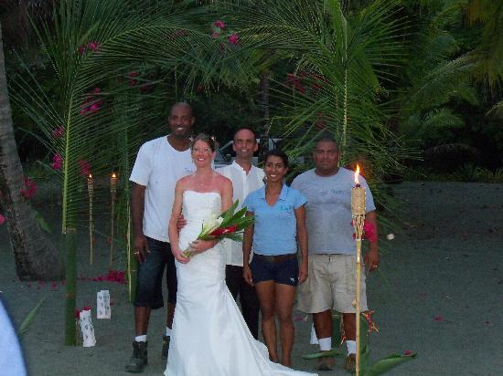 Osa Resort Club: the creators and their guests on the  big day