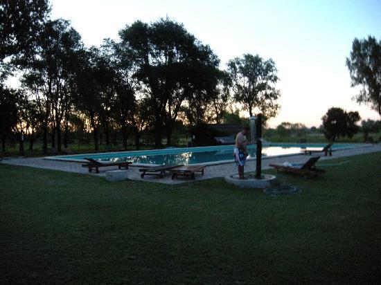 Beautiful Swimming Pool And Sunset Picture Of Estancia La Cinacina San Antonio De Areco