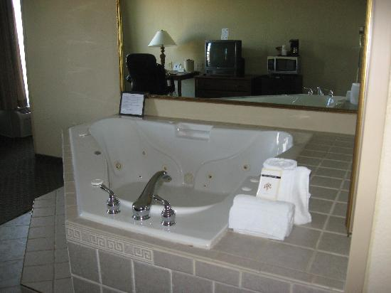 Comfort Inn Madison: Hot Tub - Rm 319 - Honeymoon Suite