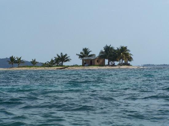 Palma Real Beach Resort & Villas: En allant à Cayos Cochinos
