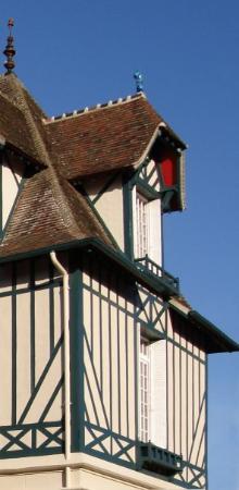 Deauville, Frankrig: maison deauvillaise