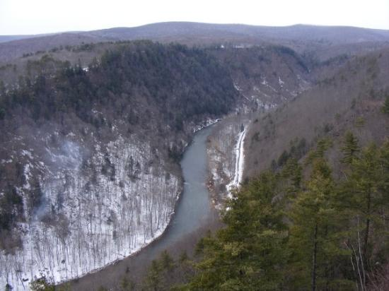 Pine Creek Gorge: Grand Canyon of PA.