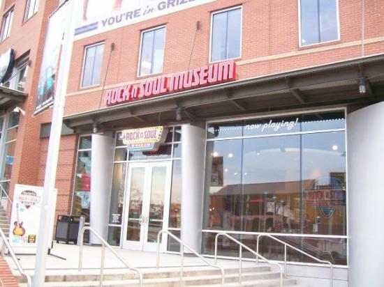 Memphis Rock 'n' Soul Museum: Rock'n'Soul Museum, Memphis, TN