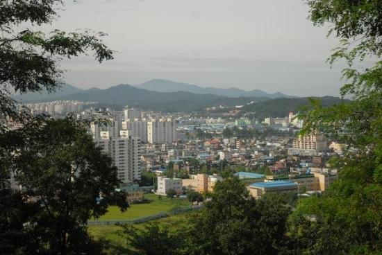 View Of Wonju From Post Camp Long Korea Picture Of Wonju Gangwon Do Tripadvisor