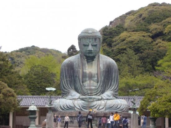 Kotoku-in (Great Buddha of Kamakura): The famous Daibutsu in Kamakura.  A place visited in 2006.