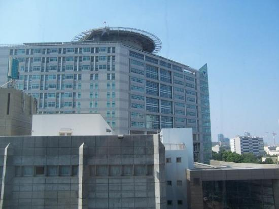 Tel Aviv Sourasky Medical center from Vital Hotel room