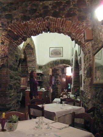 Ristorante Pizzeria Vulnetia : Our favorite place to eat in Vernazza, Ristorante Vulnetia.