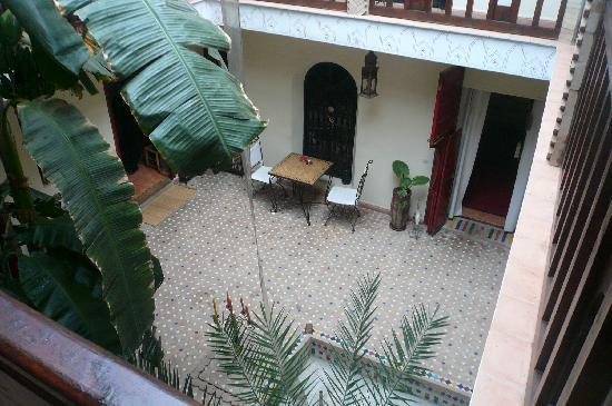 Riad Nomades: Courtyard