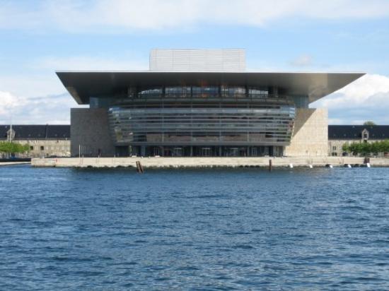 Copenhagen Opera House : Copenhagen, Denmark. Monday June 8th 2009