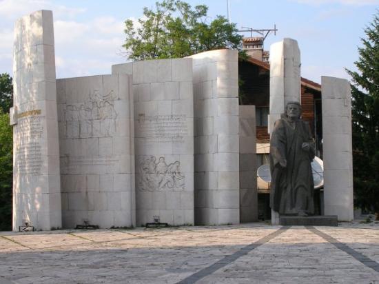 monument in bansko