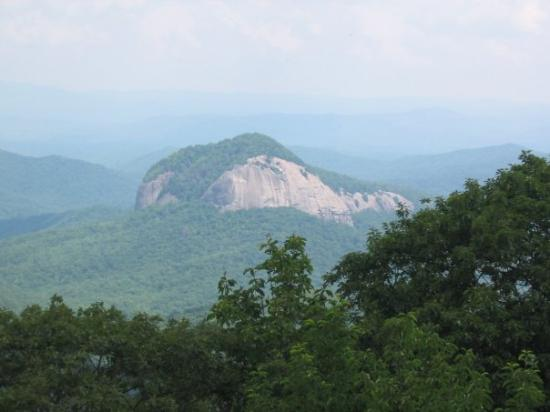 Cherokee, NC: Looking Glass Rock