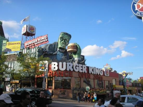 Burger King : This is what you'll look like if you eat too much fast food!