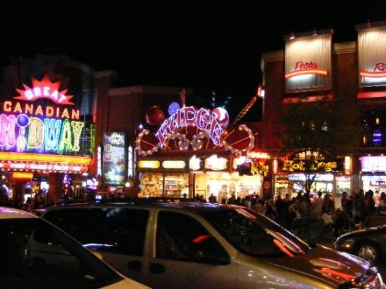 The Great Canadian Midway: Bright lights, big city