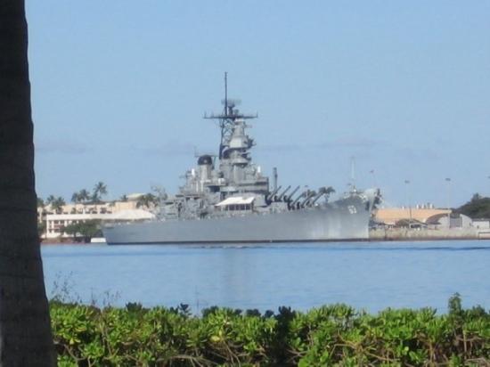 Bilde fra Battleship Missouri Memorial