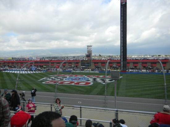 Fontana, CA: The Infield from our seats