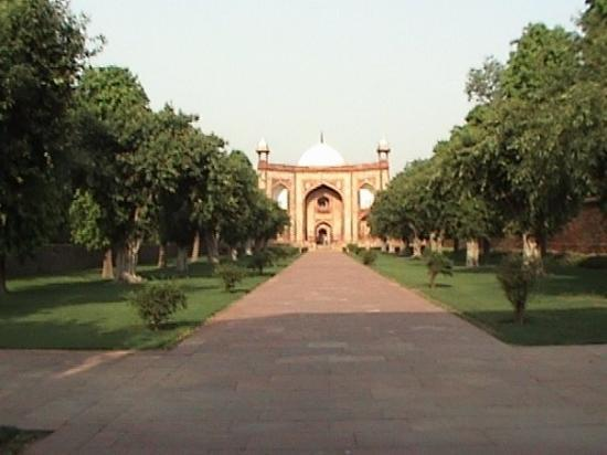 Gurugram (Gurgaon), India: This is the West Gate to a complex knows as Humayun's Tomb.