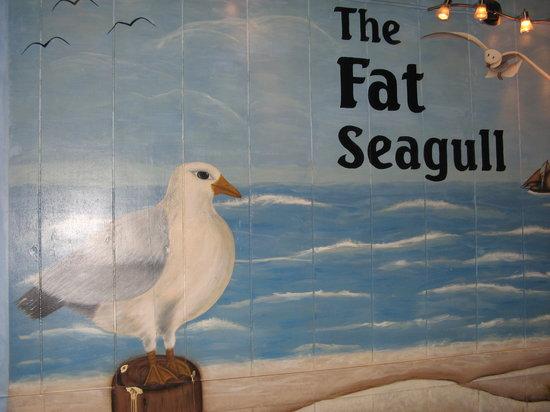 Fat Seagull: Interior Mural