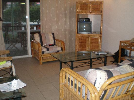 Tamarind Hotel: livingroom