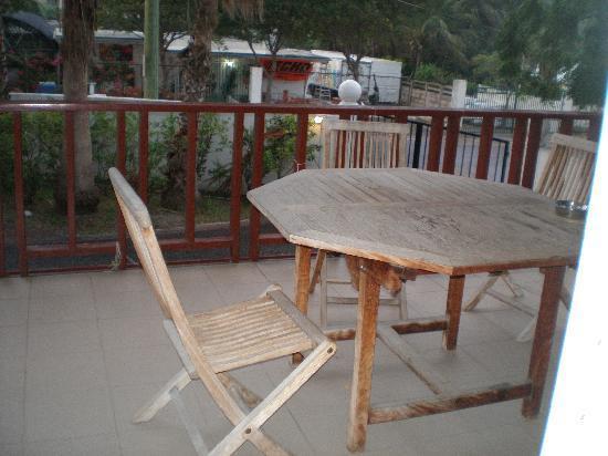 Tamarind Hotel: balcony